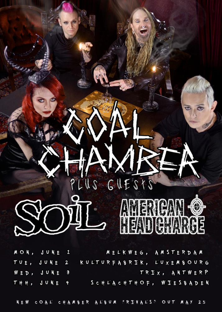 coal chamber official site coal chamber announce uk On soil tour dates 2015